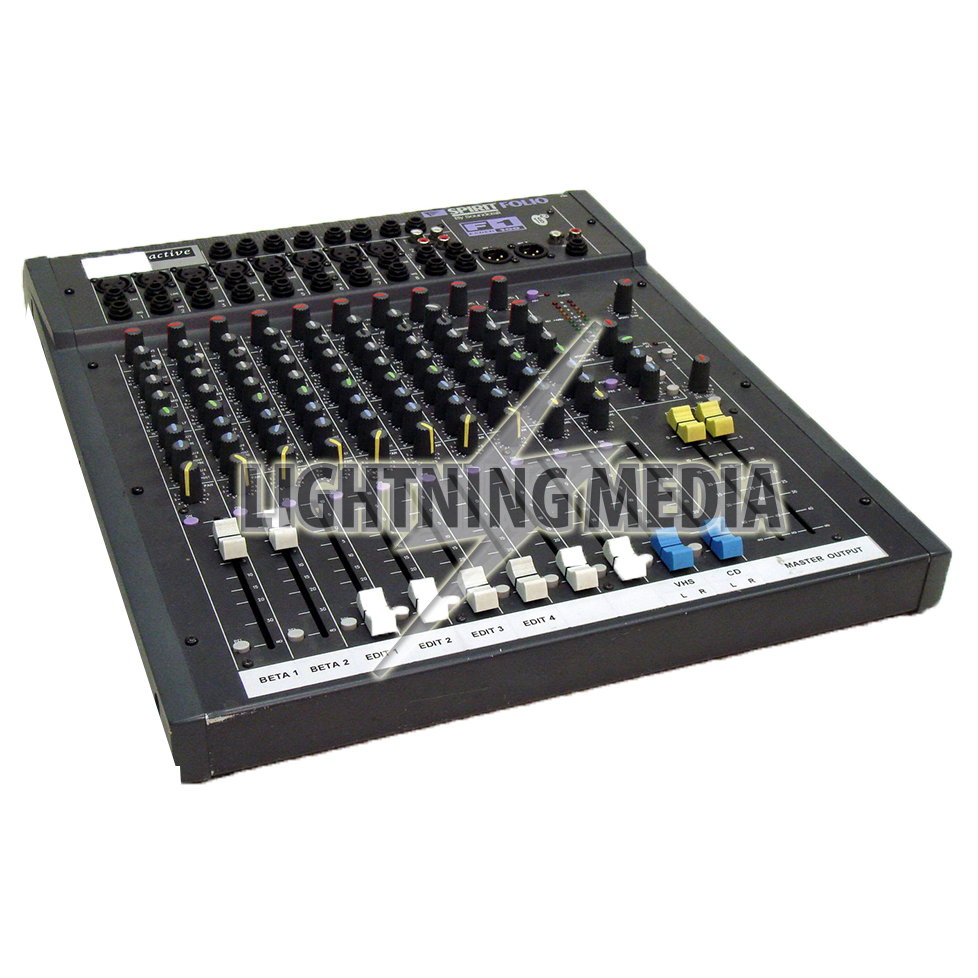 Spirit Folio Audio Mixer